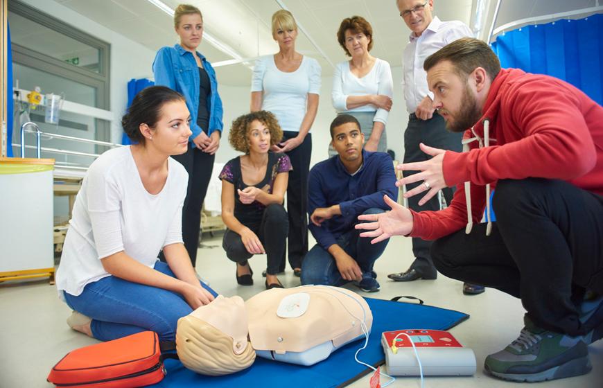 BLS/AED Komplett Kurs